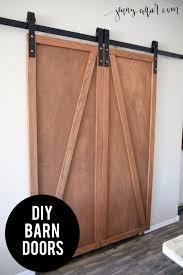 Diy Barn Doors Diy Barn Door Pantry Jenny Collier Blog