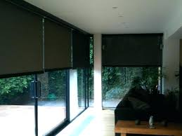 sliding glass patio doors with built in blinds. Electric Blackout Blinds Motorized Sliding Glass Door Gallery Doors Design Ideas Window Shades Type Home Fitted Patio With Built In H