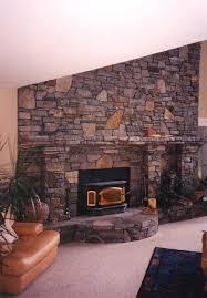 material stone stone veneer fireplace