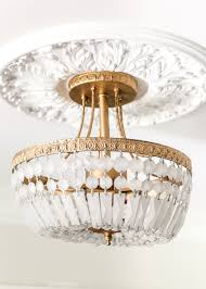 semi diy antique gold frosted crystal light fixture blesserhouse com a quick