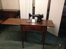 Sylvia Sewing Cabinets Vintage 1936 Singer Sewing Machine In Beautiful Wooden Cabinet