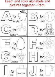 Small Picture Pics Coloring New Picture Free Printable Alphabet Coloring Pages