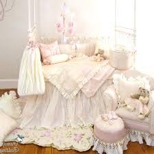 decoration glenna jean nursery bedding by girl pink cream luxury crib pertaining to carson