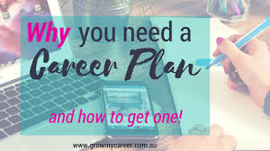 Why You Need A Career Plan How To Get One Grow My Career