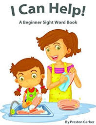 dolch primer amazon com i can help a beginner sight word book dolch primer