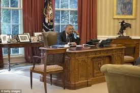 white house oval office. RESOLUTE: President Obama Worked Out Of The Oval Office Throughout His Tenure, Though White House I