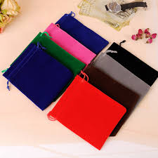 small velvet pouch 100pcs lot 9x12cmcm custom jewelry pouch for bracelet rings necklace packaging can