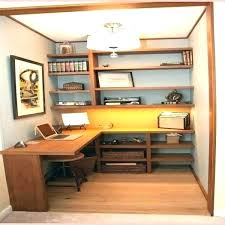 closet desk ideas small space inspiration closets turned home ikea office in a computer cool small closet office