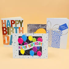 Print Birthday Invitation Us 16 9 10pcs Lot Creative Color Print Birthday Invitation Card 175 125mm Folding Paper Card Birthday Blessing Card With Envelope In Cards