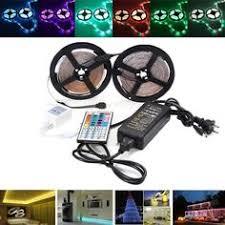 0.5/<b>1/2/3</b>/4/<b>5M RGB</b> SMD5050 Waterproof <b>LED</b> Strip Light TV ...