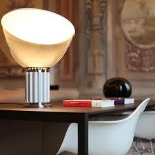 led table lighting. The Taccia LED Table And Floor Lamp By Flos In Anodised Aluminium Led Lighting