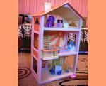 Как сделать детский домик для куклы