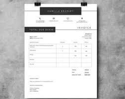 Photography Invoice Template Photography Receipt Ms Word