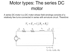 chapter 4 dc machine autosaved motor types the series dc