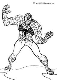 Small Picture SPIDER MAN coloring pages Venom colorist Pinterest Venom
