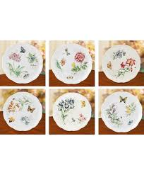 lenox butterfly meadow dinner plates. Unique Dinner Lenox Butterfly Meadow Dinner Plate Set Of 6 Throughout Plates