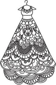 Small Picture Beautiful dress is a part of our huge collection of coloring pages