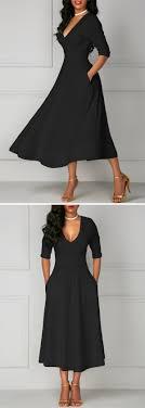 Half Sleeve Pocket Design High Waist Dress Half Sleeve Pocket Design High Waist Dress In 2018 Mote