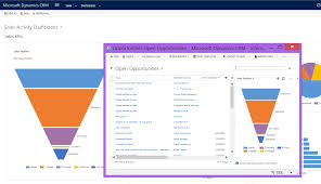 Salesforce Funnel Chart Microsoft Dynamics Crm Charts And Dashboards 4 Crm Dynamics