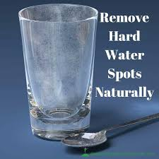 how to remove hard water stains from glass get stubborn water stains off of your glasses
