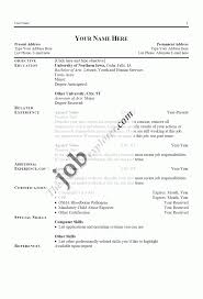 Sample Resume Template Free Examples With Writing Tips Job Resumes