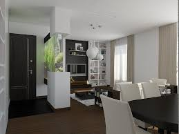 ... Attractive Apartment Theme Ideas Clever Design Ideas Apartment Interior  Modern Classic Brown White ...