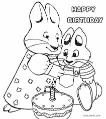 Max And Ruby Coloring Colouring