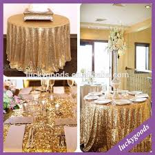 lzb017 glitter gold decorative round table cloth whole