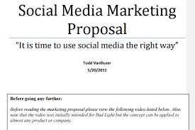 Social Media Proposal | Best Templates to Win Clients