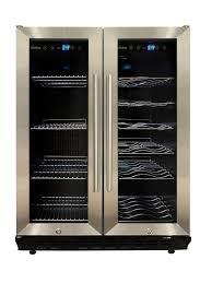 vinotemp wine fridge. Amazon.com: Vinotemp VNTVT-36 Dual-Zone Wine \u0026 Beverage Cooler: Cooler Refrigerators: Kitchen Dining Fridge