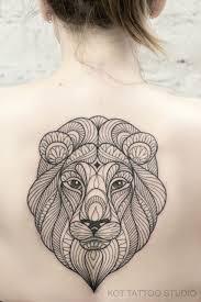 тату лев отличная идея тату тату лев на руке для тех кто любит