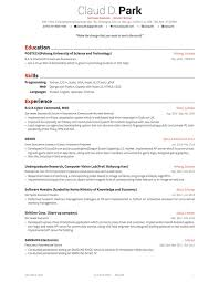 Resume Templates Latex Enchanting Latex Resume Templates LaTeX Awesome CV And Cover Letter