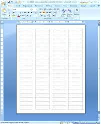 Word Avery Avery Template 8161 Microsoft Word Avery Labels 8161 Free Template