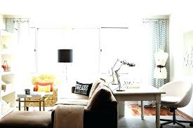 office desk in living room. Small Living Room Desk Ideas Office Built In .