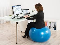 excellent you sit on a wellness ball at work maybe you shouldnt in desk ball chair attractive
