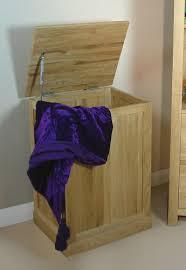 laundry bin mobel solid oak bathroom bedroom freepost baumhaus mobel solid oak laundry