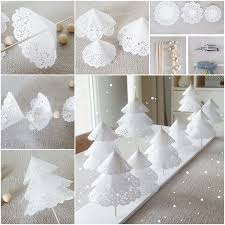 view in gallery paper doily trees wonderful diy cardboard fireplace