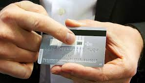 A Bank Card With A Screen Is Developed Changing Every Hour