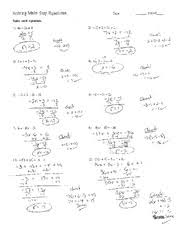 594a55898c0845f249a24b50f215dae24f91ef55_180 solving multi step equations worksheet answers free worksheets on equations with variables on both sides worksheet