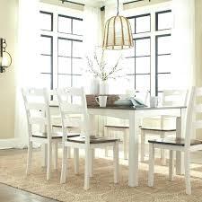white farmhouse coffee table white and brown table white brown dining room table set 7 white