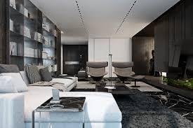 Three Luxurious Apartments With Dark Modern Interiors - Luxury apartments interior
