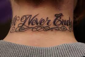 script writing tattoo ideas