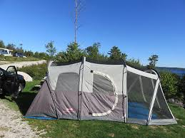 weathermaster 6 person family tent w screen room with great sewn bath tub floor