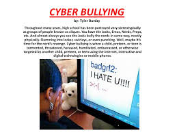 conclusion of cyber bullying essay