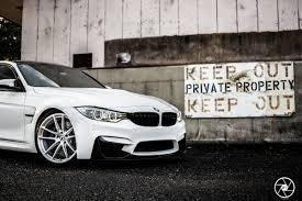 BMW 5 Series bmw m3 in white : White BMW M3 Looks Elegant On Brushed Clear Custom Wheels   Carscoops