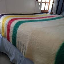 early s witney point heavy wool blanket 4 point hudson bay style vintage 1930s 40s