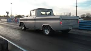1963 Chevy C10 Drag Racing - YouTube