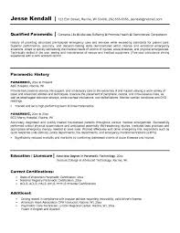 Emt B Resume Examples Resume Examples And Sample Resume
