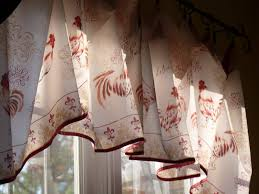 Kitchen Curtains With Rooster Designs 20 Useful Ideas Of Rooster Kitchen Curtains As Part Of