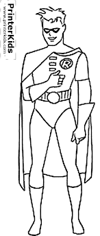 Small Picture Coloring Pages Batman And Robin Coloring Pages